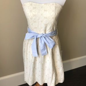 NWT Francesca's Collection embroidered dress